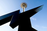 The Space Needle in Seattle Washington.