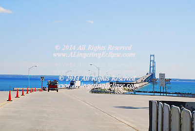 Mackinac Bridge Upper Peninsula MI