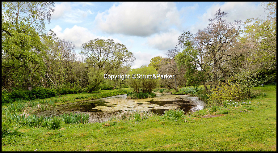 BNPS.co.uk (01202 558833)Pic: Strutt&Parker/BNPS<br /> <br /> Otterburn castle.<br /> <br /> Fit for a King...<br /> <br /> A grand castle that was the scene of a bloody battle between the English and the Scots more than 600 years ago is now on the market for £1.4million.<br /> <br /> Grade II listed Otterburn Castle, which sits in 32 acres of grounds in Northumberland, was not built until 440 years after the Battle of Otterburn but one of the rooms has five painted panels depicting it.<br /> <br /> The historic property is currently run as a successful country house hotel, but could easily be turned back into a grand private home with planning permission for a change of use.