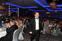 At the Bord G&aacute;is Energy Munster GAA Sports Star of the Year Awards in The Malton Hotel, Killarney on Saturday night Davy Fitzgerald, Clare, Manager of the year  about to accept his award.<br /> Picture by Don MacMonagle<br /> <br /> PR photo from Munster Council