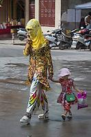 Kashi, Xinjiang Province, May 2014 - Downtown