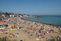 Broadstairs, UK - 24 June 2020.<br /> People take advantage of the heatwave and flock to beaches in Broadstairs, during the eased lockdown for the Coronavirus (Covid 19) outbreak.<br /> CAP/JOR<br /> ©JOR/Capital Pictures