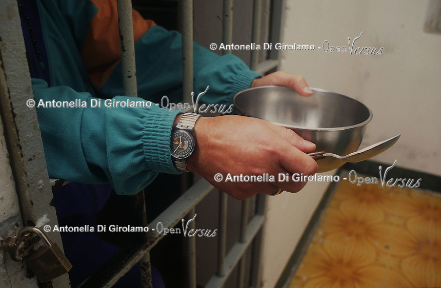 Casa di reclusione di Porto Azzurro, isola d' Elba..House of imprisonment of Porto Azzurro, Elba Island. .Celle dei prigionieri. Cells of the prisoners.. .