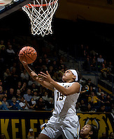 Brittany Boyd of California shoots the ball during the game against Long Beach State at Haas Pavilion in Berkeley, California on November 8th, 2013.  California defeated Long Beach State, 70-51.