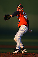 February 26, 2010:  Pitcher Will Strack (37) of the Illinois Fighting Illini during the Big East/Big 10 Challenge at Jack Russell Stadium in Clearwater, FL.  Photo By Mike Janes/Four Seam Images