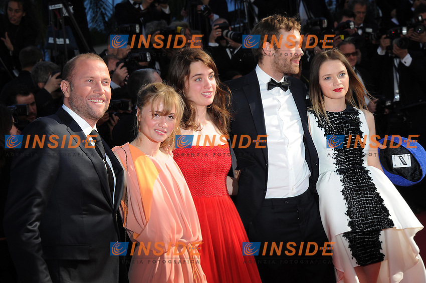francois damien .Cannes 18/5/2013 .Festival del Cinema di Cannes .Foto Panoramic / Insidefoto .ITALY ONLY