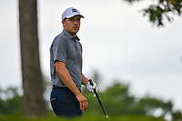 Jordan Spieth (USA) looks over his tee shot on 6 during Rd3 of the 2019 BMW Championship, Medinah Golf Club, Chicago, Illinois, USA. 8/17/2019.<br /> Picture Ken Murray / Golffile.ie<br /> <br /> All photo usage must carry mandatory copyright credit (© Golffile   Ken Murray)