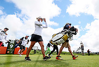 Amy Boulden. McKayson NZ Women's Golf Open, Round Three, Windross Farm Golf Course, Manukau, Auckland, New Zealand, Saturday 30 September 2017.  Photo: Simon Watts/www.bwmedia.co.nz