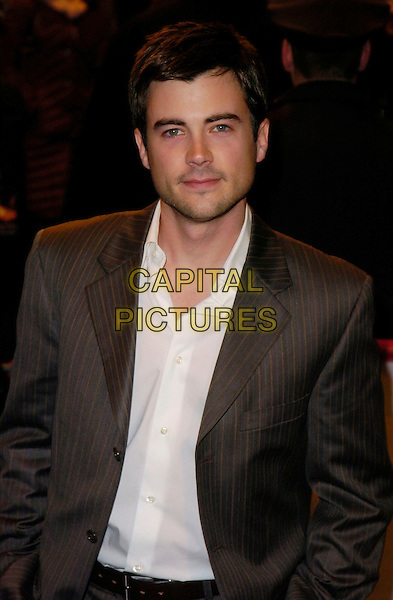 "MATT LONG.At the Premiere of ""Ghost Rider"" held at Lowes 42nd Street E-Walk Theater, New York, New York, USA, .15 February 2007..half length.CAP/ADM/BL.©Bill Lyons/AdMedia/Capital Pictures. *** Local Caption ***"