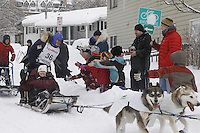 Bruce Linton Saturday, March 3, 2012  Ceremonial Start of Iditarod 2012 in Anchorage, Alaska.