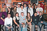 18TH BASH: Gavin Carroll (seated centre) enjoying his 18th birthday bash in the Huddle Bar, Strand St., Tralee, last Saturday night with all his family and friends.   Copyright Kerry's Eye 2008