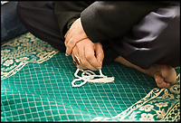 BNPS.co.uk (01202 558833)<br /> Pic: HistoricEngland/BNPS<br /> <br /> At prayer in the Daral-Imaan Mosque in Bristol.<br /> <br /> A new book from Historic England reveals the spread of Mosque building across Britain.<br /> <br /> The book provide a fascinating insight into the diversity of Britain's 1,500 mosques.<br /> <br /> They range from humble house conversions where small groups gather to magnificent purpose-built complexes which can accommodate thousands of worshippers.<br /> <br /> Architect Shahed Saleem, who has designed a mosque in Hackney, east London, has produced the first comprehensive overview of Islamic architecture on these shores in his new book, The British Mosque.