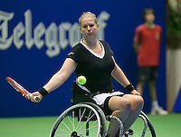 19-12-13,Netherlands, Rotterdam,  Topsportcentrum, Tennis Masters,   Michaela Spaanstra(NED)    <br /> Photo: Henk Koster