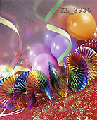 Interlitho, Alberto, STILL LIFES, photos, streamer, balloons(KL2936,#I#) Stilleben, naturaleza muerta