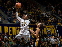 Brittany Shine of California shoots the ball during the game against Long Beach State at Haas Pavilion in Berkeley, California on November 8th, 2013.  California defeated Long Beach State, 70-51.