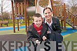Shelia O'Brien with her son, Nathan who lives with autism on a daily basis.