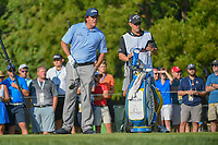 Phil Mickelson (USA) looks over his tee shot on 12 during 1st round of the 100th PGA Championship at Bellerive Country Cllub, St. Louis, Missouri. 8/9/2018.<br /> Picture: Golffile | Ken Murray<br /> <br /> All photo usage must carry mandatory copyright credit (© Golffile | Ken Murray)