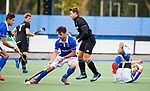 UTRECHT - Robbert Kemperman (Kampong) tijdens de hoofdklasse  hockeywedstrijd heren, Kampong-HGC (3-3) . COPYRIGHT KOEN SUYK