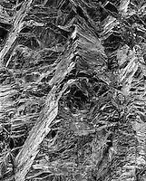 Road cut detail near Ouray, Colorado.<br /> <br /> Mamiya RB67 Pro SD, 180mm lens, Kodak TMAX film