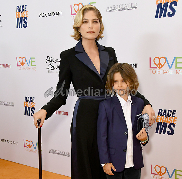 10 May 2019 - Beverly Hills, California - Selma Blair, Arthur Bleick. 26th Annual Race to Erase MS Gala held at the Beverly Hilton Hotel. Photo Credit: Birdie Thompson/AdMedia