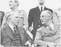 Franklin D. Roosevelt, William MacKenzie-King in Quebec, august 18,1943