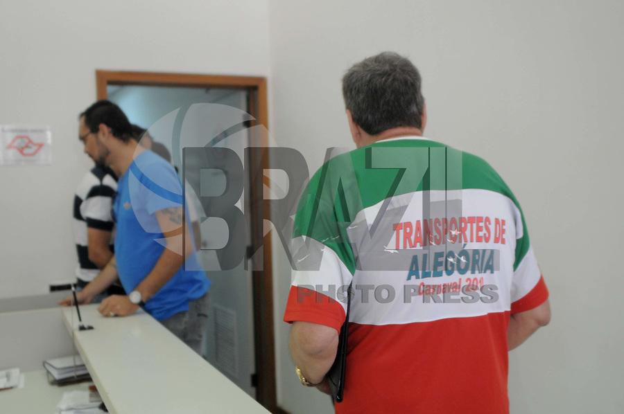 SAO PAULO, SP, 28 DE FEVEREIRO 2012 -Sao Paulo. Comparece para depor na DATUR Jose Manoel Gaspar Presidente da X9, prestar esclarecimentos sobre a apuracao do Carnaval2012 Paulistana (FOTO: ADRIANO LIMA / BRAZIL PHOTO PRESS).