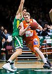 S&ouml;dert&auml;lje 2015-02-07 Basket Basketligan S&ouml;dert&auml;lje Kings - Bor&aring;s Basket :  <br /> Bor&aring;s Christian Mar&aring;ker i kamp om bollen med S&ouml;dert&auml;lje Kings Carl Engstr&ouml;m under matchen mellan S&ouml;dert&auml;lje Kings och Bor&aring;s Basket <br /> (Foto: Kenta J&ouml;nsson) Nyckelord:  S&ouml;dert&auml;lje Kings SBBK T&auml;ljehallen Bor&aring;s Basket