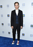 10 March 2018 - Los Angeles, California - Tommy Dorfman. The Human Rights Campaign 2018 Los Angeles Dinner held at JW Marriott LA Live.  <br /> CAP/ADM/BT<br /> &copy;BT/ADM/Capital Pictures