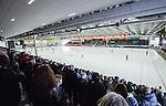 V&auml;ster&aring;s 2014-03-08 Bandy SM-semifinal 4 V&auml;ster&aring;s SK - Hammarby IF :  <br /> Genrell vy &ouml;ver ABB Arena fr&aring;n l&auml;ktarplats<br /> (Foto: Kenta J&ouml;nsson) Nyckelord:  VSK Bajen HIF utomhus exteri&ouml;r exterior supporter fans publik supporters