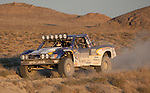 August 19, 2011:  Steve Sourapas races his Corona truck through the desert in the Best in the Desert - Las Vegas to Reno Off Road Race on Friday afternoon.