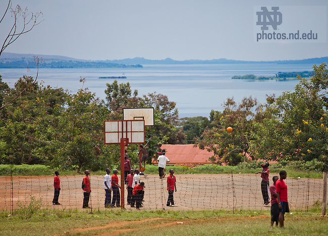 Oct. 13, 2009; Lakeview Secondary School, Jinja, Uganda..Photo by Matt Cashore/University of Notre Dame