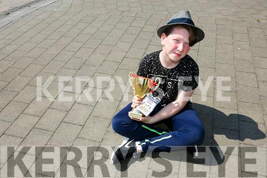 Joshua Roche, Mitchels Avenue Tralee, is  in the final of Teenstar