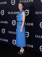 "06 December 2016 - Westwood, California. Emma Stone.   Premiere of Liongate's ""La La Land""  held at Mann Village Theater. Photo Credit: Birdie Thompson/AdMedia"