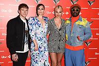 LONDON, UK. June 06, 2019: Danny Jones, Jessie J, Pixie Lott & Will.i.Am at The Voice Kids UK 2019 photocall, London.<br /> Picture: Steve Vas/Featureflash