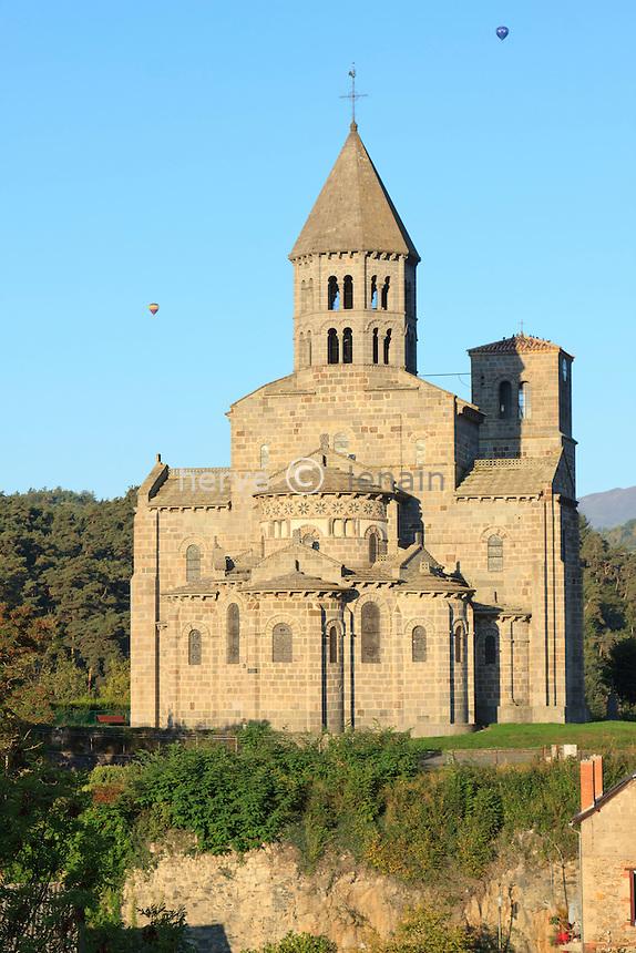 France, Puy-de-Dôme (63),Saint-Nectaire, l'église Saint-Nectaire // France, Puy de Dome,St Nectaire, St Nectaire church