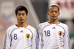 10 February 2006: Japan's Mitsuo Ogasawara (8) and Shinji Ono (18). The United States Men's National Team defeated Japan 3-2 at SBC Park in San Francisco, California in an International Friendly soccer match.