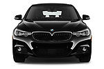 Car photography straight front view of a 2017 BMW 3 Series 330i GT M Sport 5 Door Hatchback