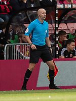 Match assistant referee Matthew Wilkes  <br /> <br /> Photographer David Horton/CameraSport<br /> <br /> The Premier League - Bournemouth v Sheffield United - Saturday 10th August 2019 - Vitality Stadium - Bournemouth<br /> <br /> World Copyright © 2019 CameraSport. All rights reserved. 43 Linden Ave. Countesthorpe. Leicester. England. LE8 5PG - Tel: +44 (0) 116 277 4147 - admin@camerasport.com - www.camerasport.com