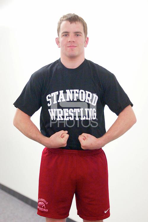 2002: Stanford Wrestling T-Shirts.