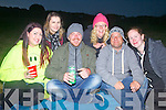 Party animals at the Valentia Island Festival pictured here taking a break were l-r; Gemma Roche, Mary McCarthy, Frank Griffin, Sinéad Kelleher, Jonathan McAuliffe & Christine Miller.