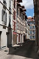 Europe/France/Aquitaine/64/Pyrénées-Atlantiques/Pays-Basque/Bayonne: Maisons à colombage- Rue Douer