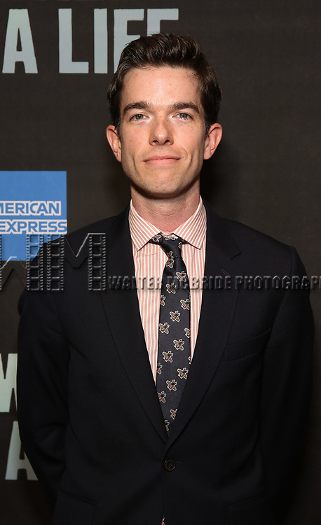 """John Mulanely attends the Broadway Opening Night performance of """"Sea Wall / A Life"""" at the Hudson Theatre on August 08, 2019 in New York City."""