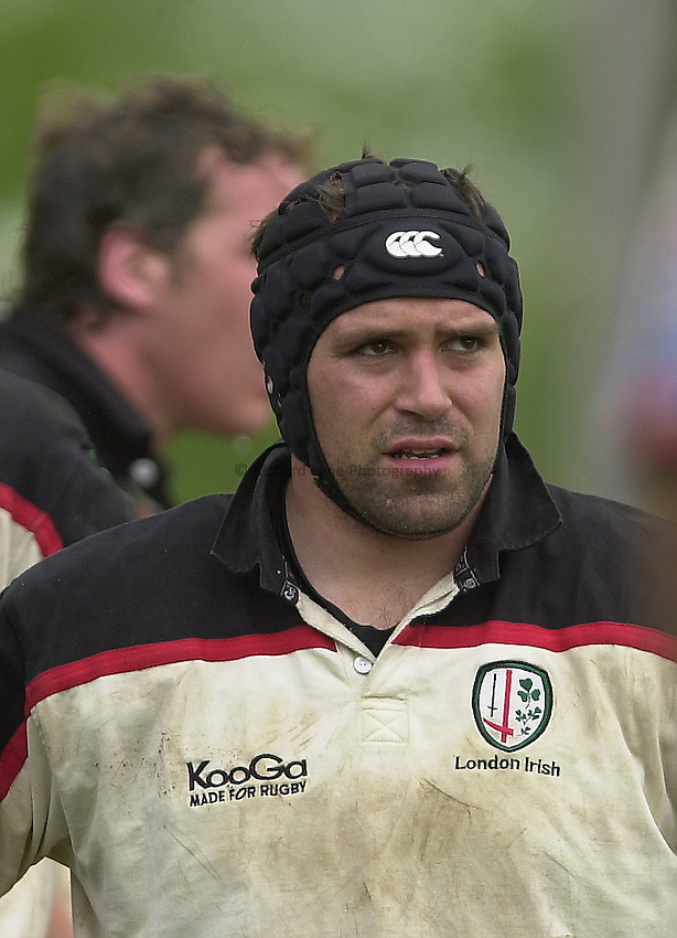 Photo Peter Spurrier.Zurich Premiership Rugby - Leicester Tigers v London Irish. 03/05/2003.Mike Worsley..