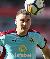Burnley's Sam Vokes<br /> <br /> Photographer Rob Newell/CameraSport<br /> <br /> The Premier League - Arsenal v Burnley - Sunday 6th May 2018 - The Emirates - London<br /> <br /> World Copyright &copy; 2018 CameraSport. All rights reserved. 43 Linden Ave. Countesthorpe. Leicester. England. LE8 5PG - Tel: +44 (0) 116 277 4147 - admin@camerasport.com - www.camerasport.com