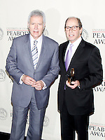 Alex Trebek and Harry Friedman at The George Foster Peabody Awards at the Waldorf Astoria in New York City. May 21, 2012. © Laura Trevino/MediaPunch Inc.