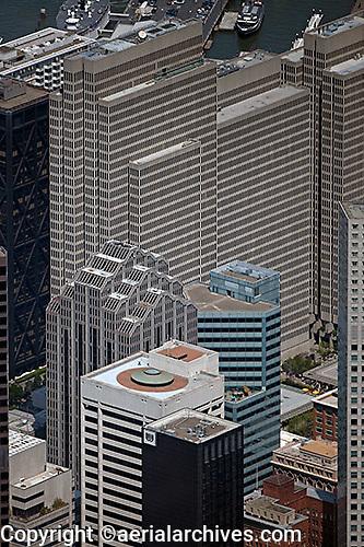 aerial photograph Embarcadero Center San Francisco