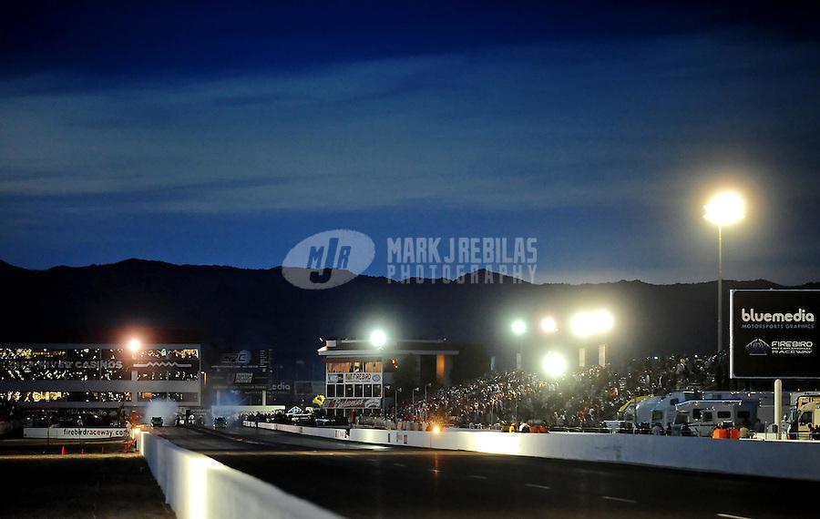 Feb. 21, 2010; Chandler, AZ, USA; General view of Firebird International Raceway during the Arizona Nationals. Mandatory Credit: Mark J. Rebilas-