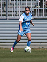 Reilly Parker. The Washington Spirit defeated the North Carolina Tar Heels in a preseason exhibition, 2-0, at the Maryland SoccerPlex in Boyds, MD.