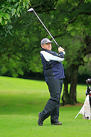 Declan O'Neill (Carton House) on the 3rd tee during round 1 of The Mullingar Scratch Cup in Mullingar Golf Club on Sunday 3rd August 2014.<br /> Picture:  Thos Caffrey / www.golffile.ie