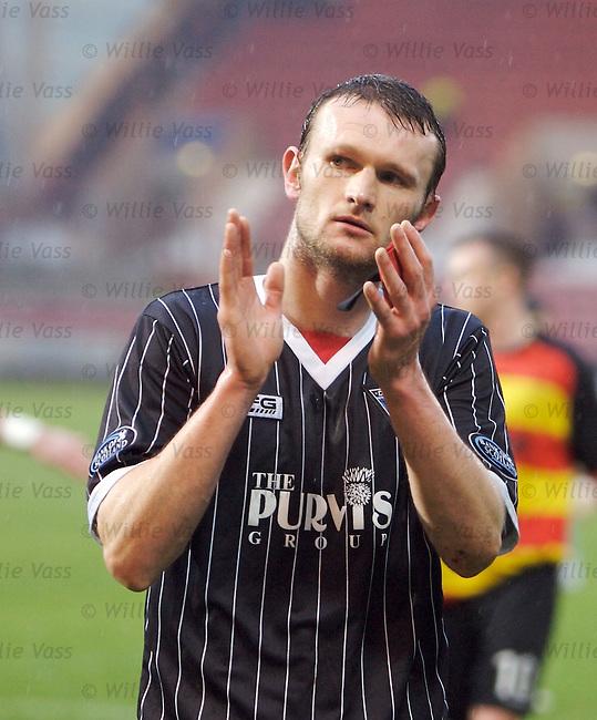 Scott Wilson, Dunfermline.stock season 2006-2007.pic willie vass